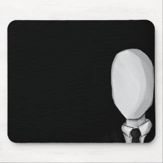 Slenderman Mousepad