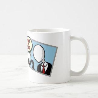 Slenderman on your window - mug