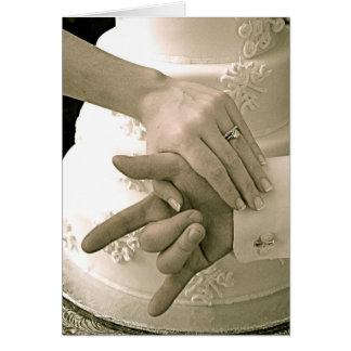 SLG Wedding Card