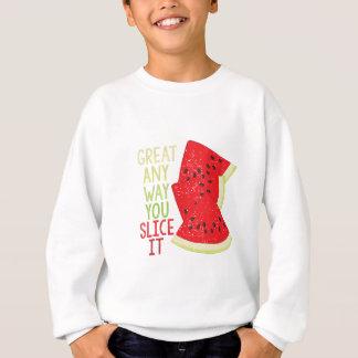 Slice It Sweatshirt