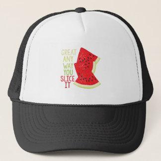 Slice It Trucker Hat