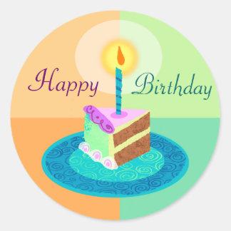 Slice of Birthday Cake Sticker