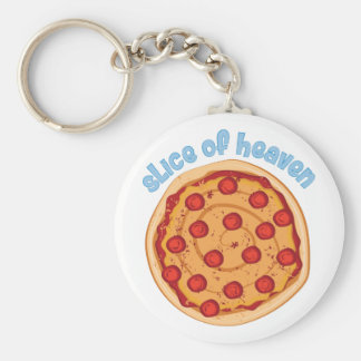Slice Of Heaven Key Ring