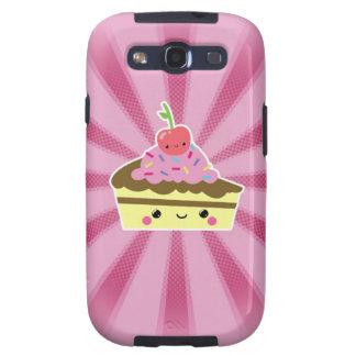 Slice of Kawaii Cake with a Cherry on Top Samsung Galaxy SIII Cover