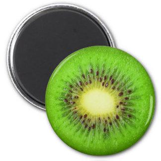 Slice of kiwi magnet