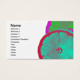 Slice of Lemon Business Card
