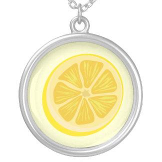 Slice of Lemon Necklace