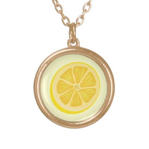 Slice of Lemon Pendants