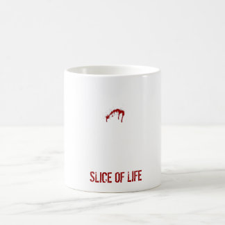 SLICE OF LIFE COFFEE MUG