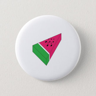 Slice of Water Melon 6 Cm Round Badge
