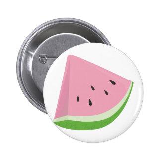 Slice Watermelon 6 Cm Round Badge
