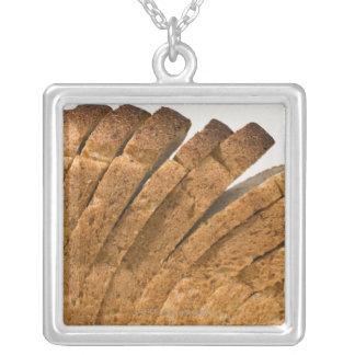 Sliced loaf of bread custom necklace