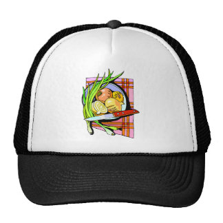 Sliced Onions and Potatoes Hat