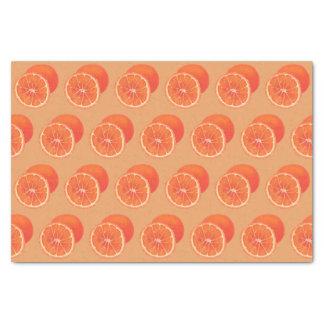 Sliced Orange Whole Oranges Tissue Paper