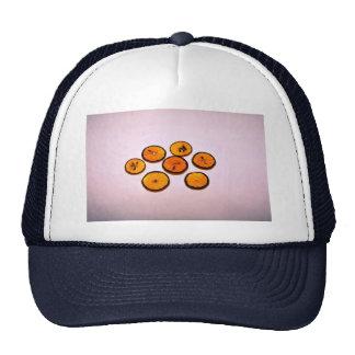 Sliced oranges hats