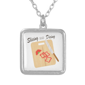 Slicing And Dicing Custom Necklace