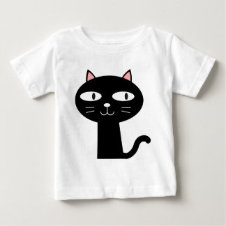 Slick Black Cat Baby T-Shirt