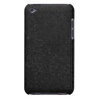 Slick Black Stone Print Texture Background iPod Case-Mate Cases