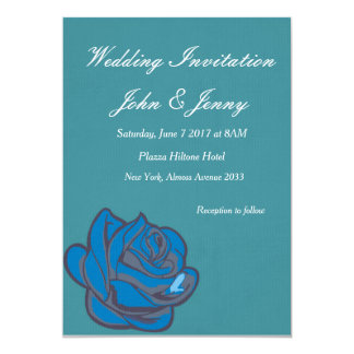 Slick retro color invitation
