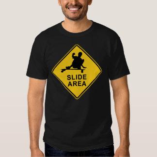 slide area tee shirt