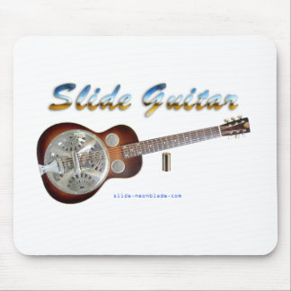 Slide Guitar Design mousepad