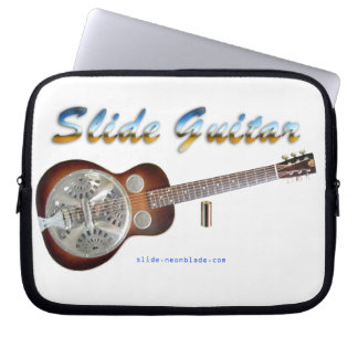 Slide Guitar Laptop Sleeve