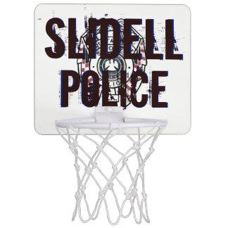 Slidell Police Department Basketball Mini Hoop