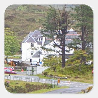 Sligachan Hotel, Isle of Skye, Scotland Square Sticker