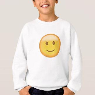 Slightly Smiling Face Emoji Sweatshirt