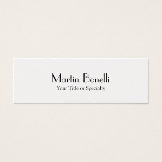 Slim Special Unique Professional Mini Business Card