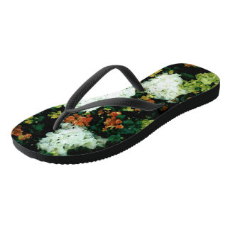 Slim Straps: Floral Slippers Thongs