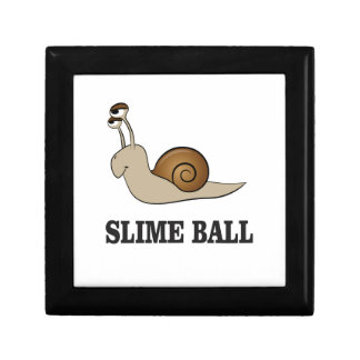 slime ball snail small square gift box