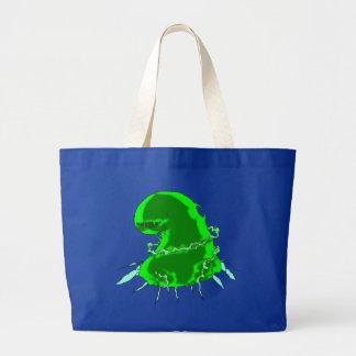 Slime Monster Tote Bag