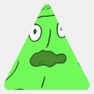 slime Monster Triangle Sticker