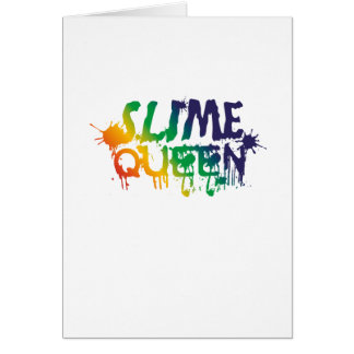 Slime Queen Slime making supplies Card