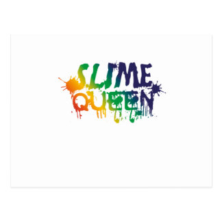 Slime Queen Slime making supplies Postcard