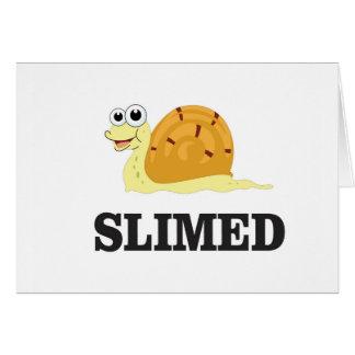 slimed snail card