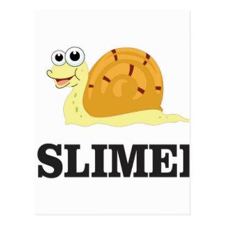 slimed snail postcard