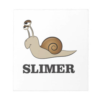 slimer the snail notepads
