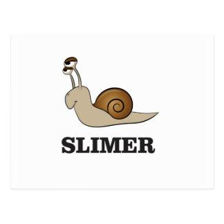 slimer the snail postcard
