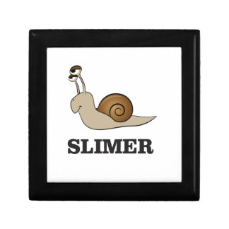 slimer the snail small square gift box