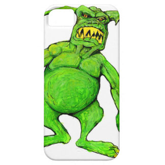 Slimey Green Monster iPhone 5 Case