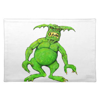 Slimey Green Monster Placemat