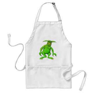 Slimey Green Monster Standard Apron