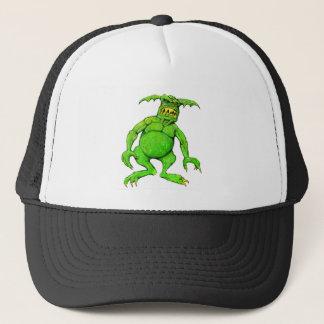 Slimey Green Monster Trucker Hat