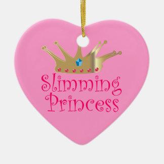Slimming Princess Ceramic Ornament
