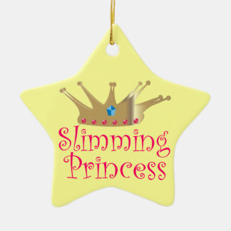 Slimming Princess Ceramic Star Decoration