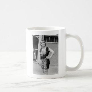 Slimming Stripes, 1920s Coffee Mugs