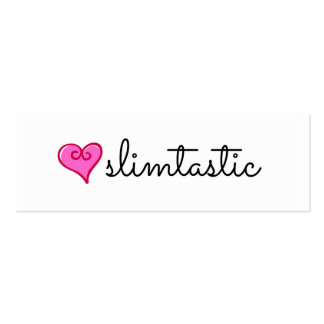 "Slimtastic Plexus Slim ""Skinny"" Business Cards"