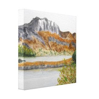 Slioch and Loch Maree-Wester Ross Canvas Print